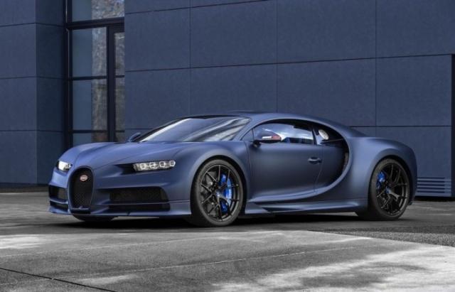 布加迪推出凯龙110周年限量版跑车