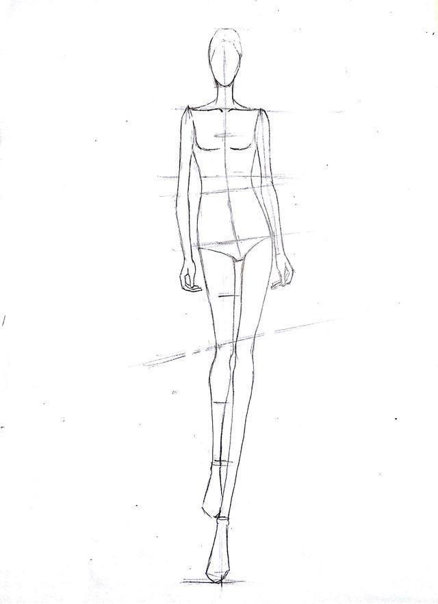 一篇文章教会你服装设计手绘效果图(终身受益)图片