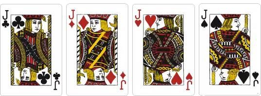 扑克牌中的j