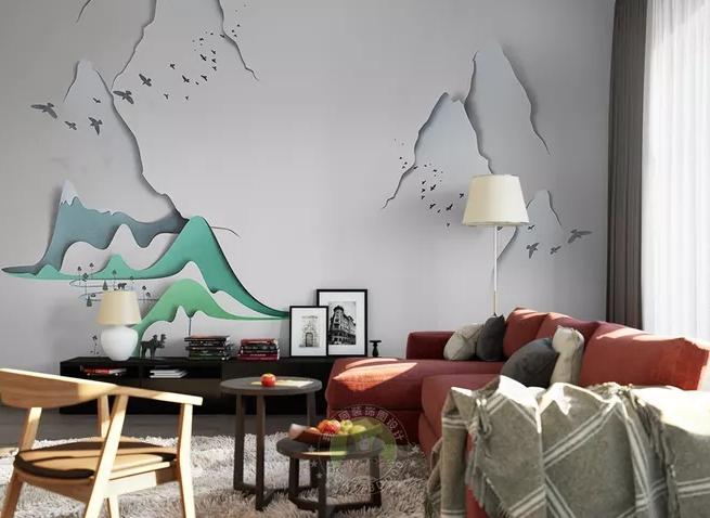 简单大方漂亮的电视墙,这几种特好看图片