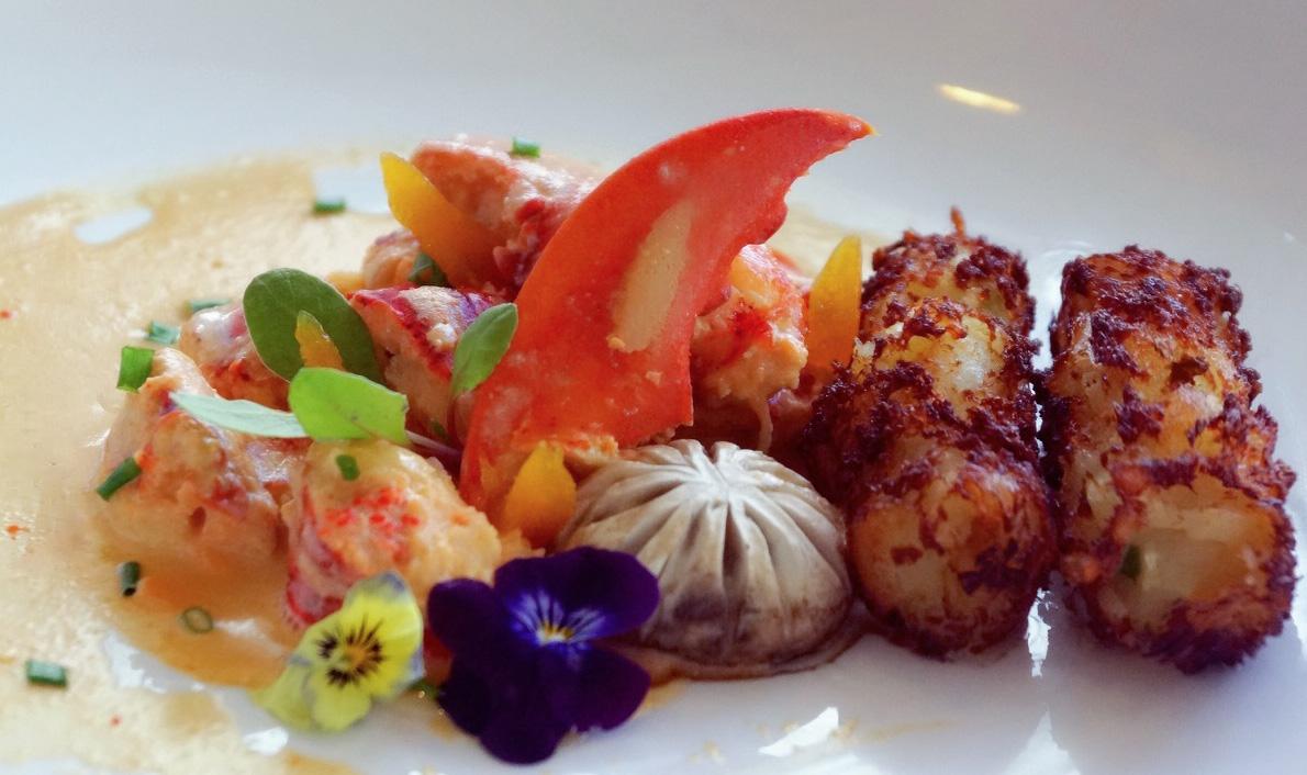 我的蓝带国际厨艺学院走读日记part3——法式龙虾与巴黎蘑菇