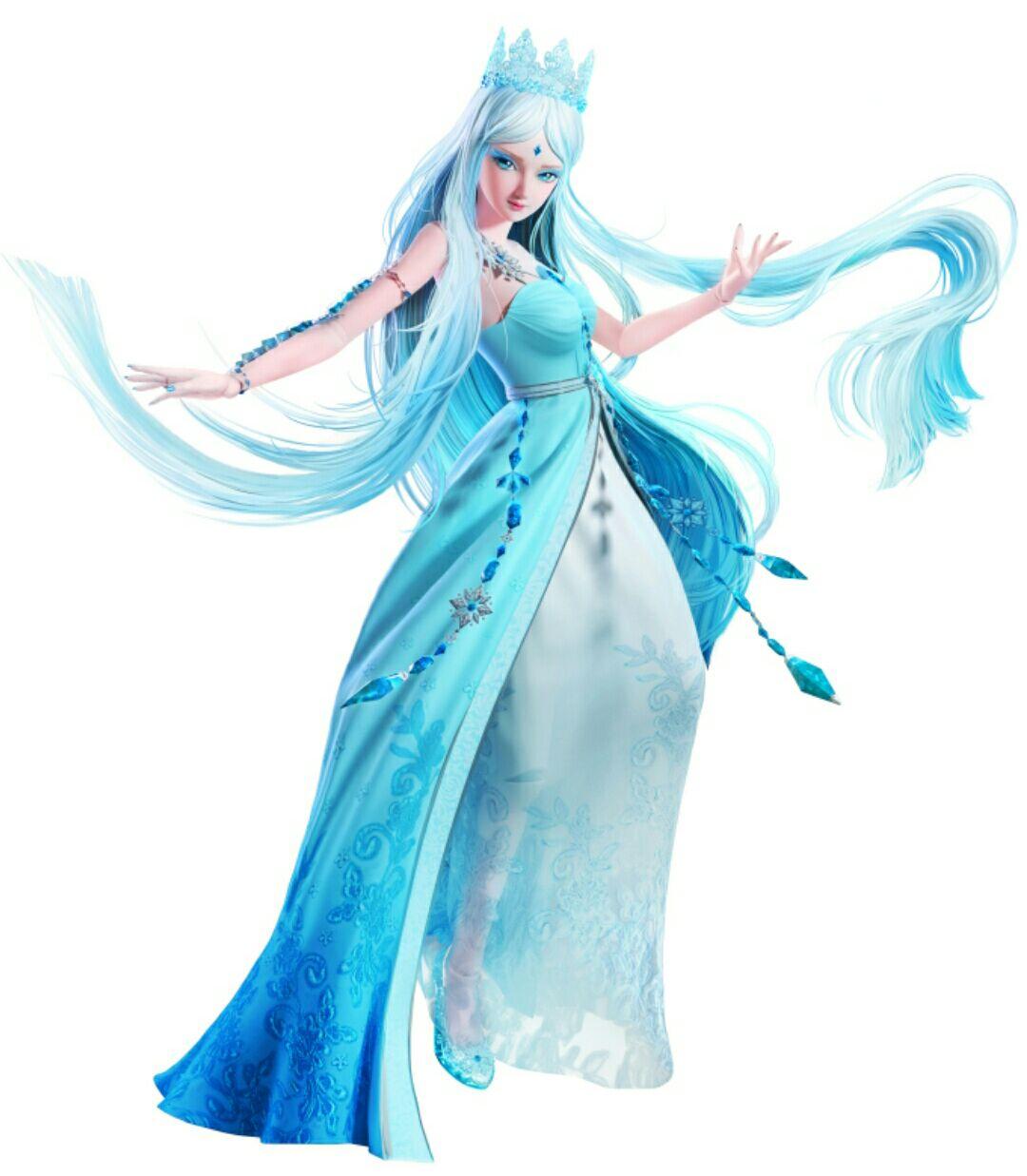 叶罗丽:当官方公布9个角色海报后,冰公主变迪士尼公主,图8崩坏图片