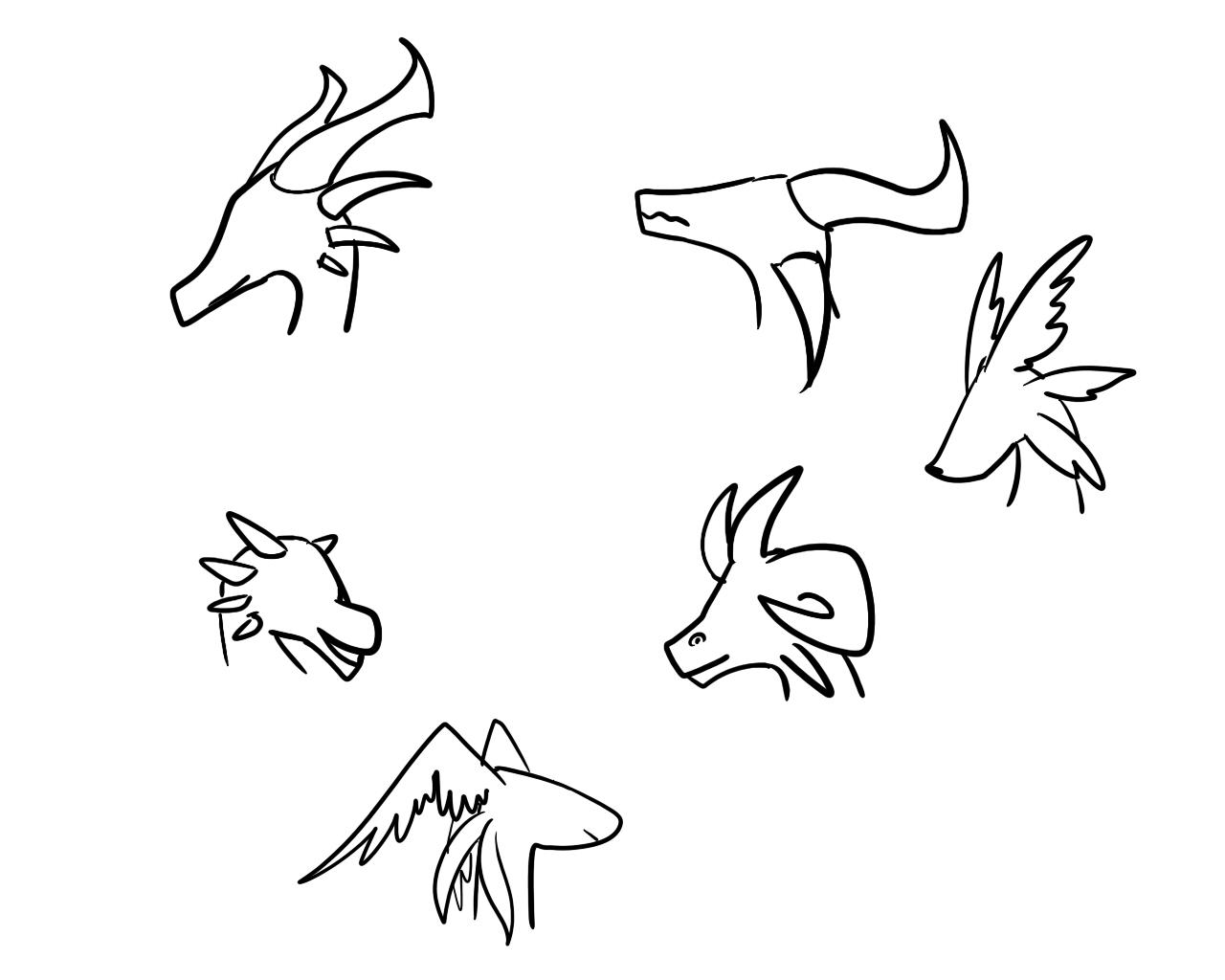 论龙头的种类与画法【最终弹】图片