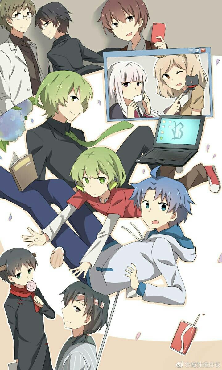 小绿和小蓝动漫图片