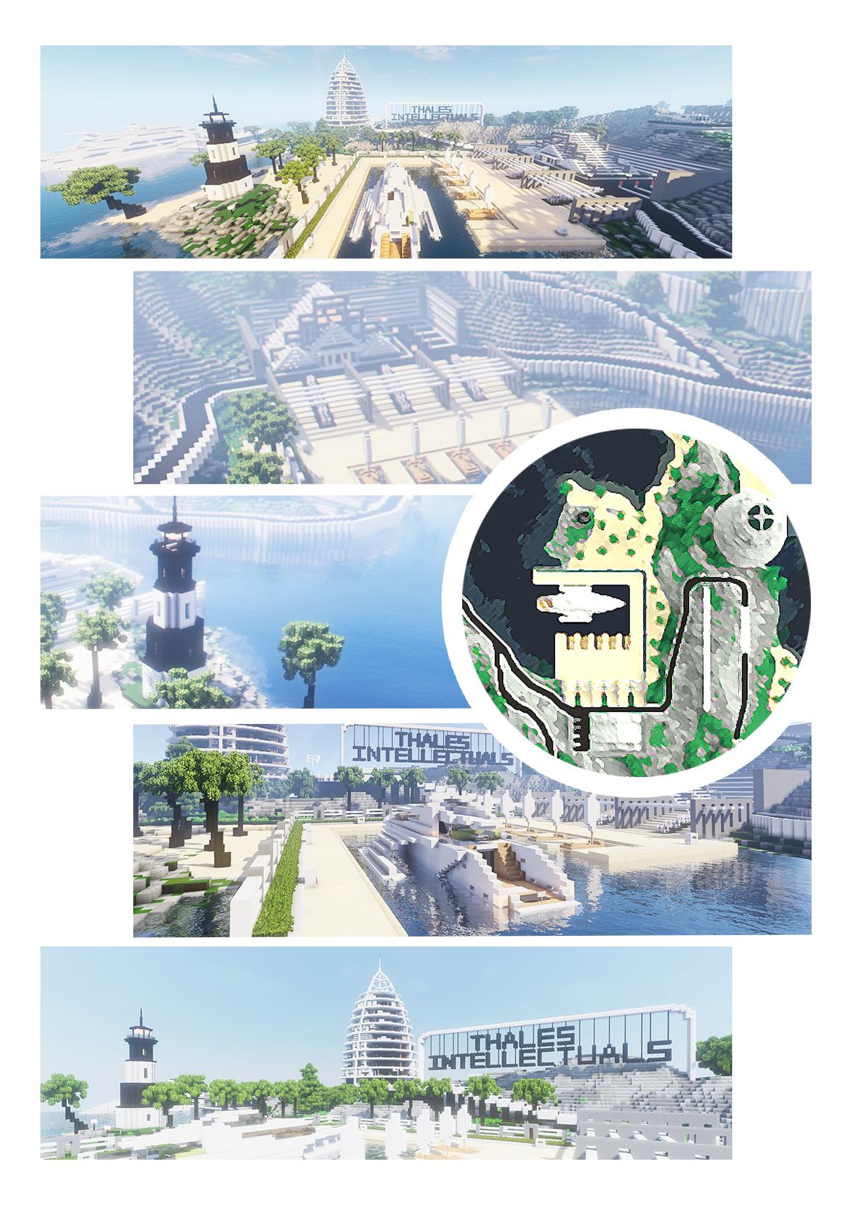 【我的别墅现代建筑群】海岛v别墅别墅--源梦岛世界万佳邹城小阳光城图片