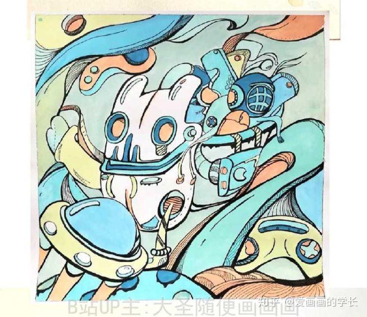 如何画好考研装饰画,考研海报设计 专升本装饰画 专升本命题设计图片