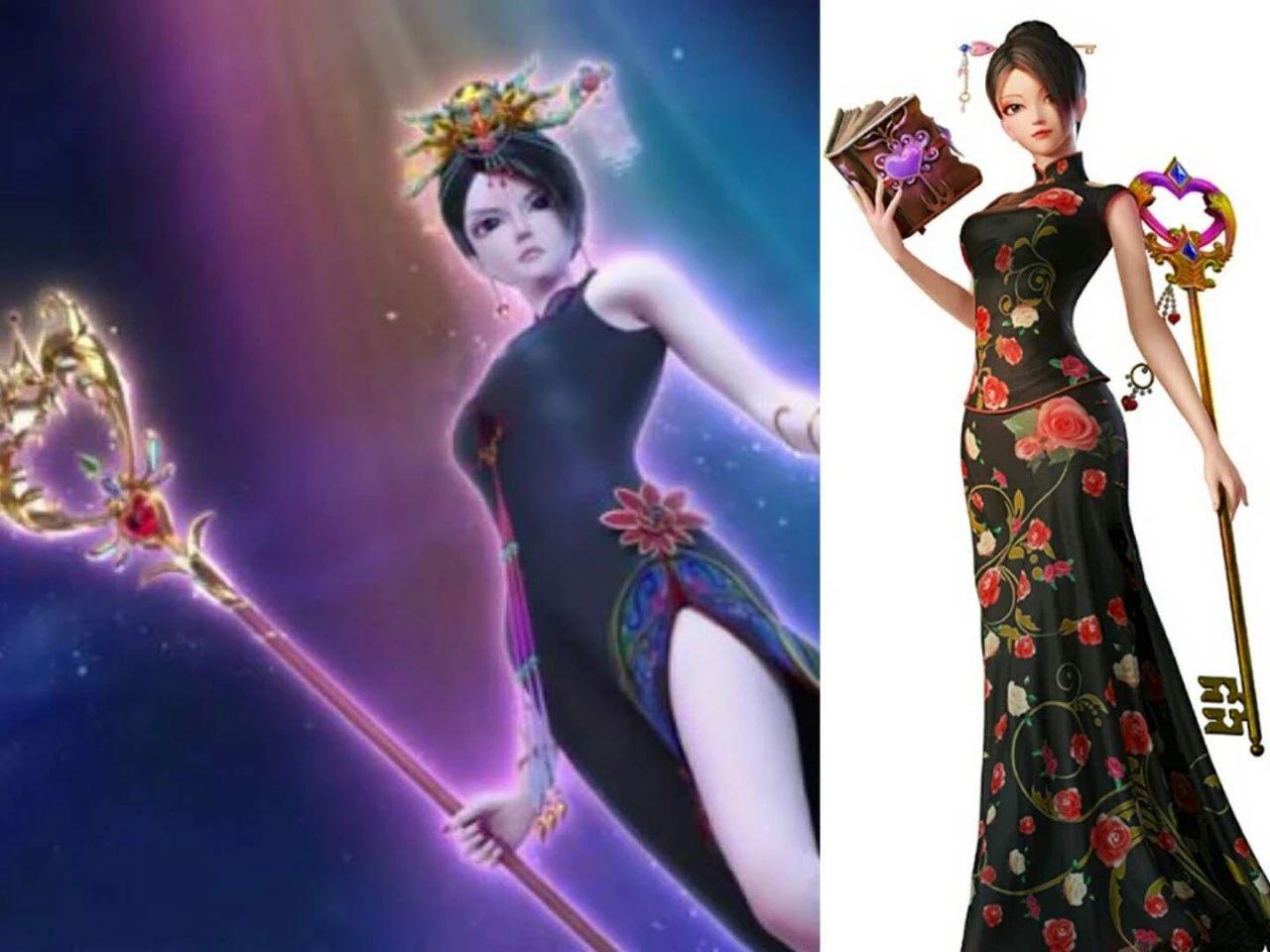 叶罗丽:官方公布角色海报图,冰公主第一名,最后一位备受宠爱!图片