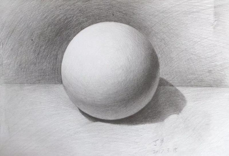 这张作业的效果很好,首先画面黑白灰层次清晰,排线也很细腻.