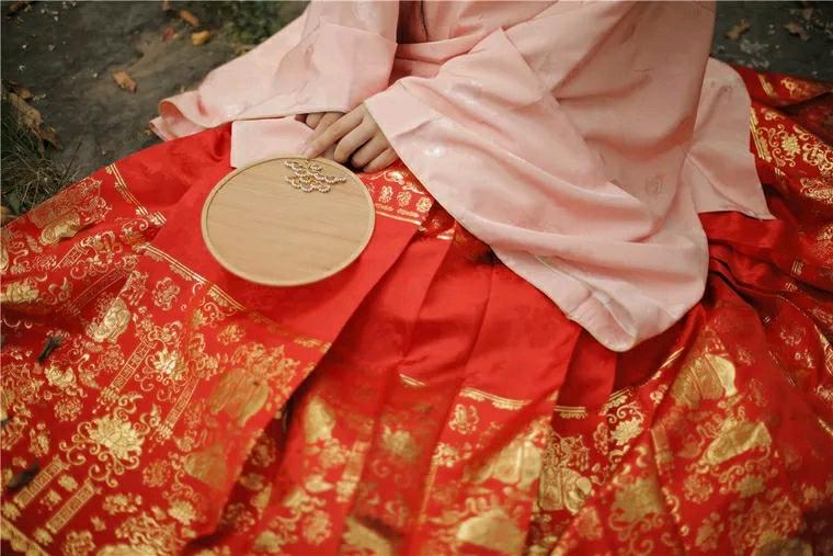 红色汉服推荐 红色汉服