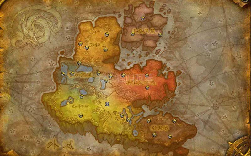 魔兽世界外域和诺森德世界地图更新,8.1.5新监狱地图在哪?