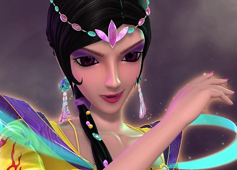 """叶罗丽:共用魔法的仙子都有谁?只有她的魔法是""""偷来的图片"""