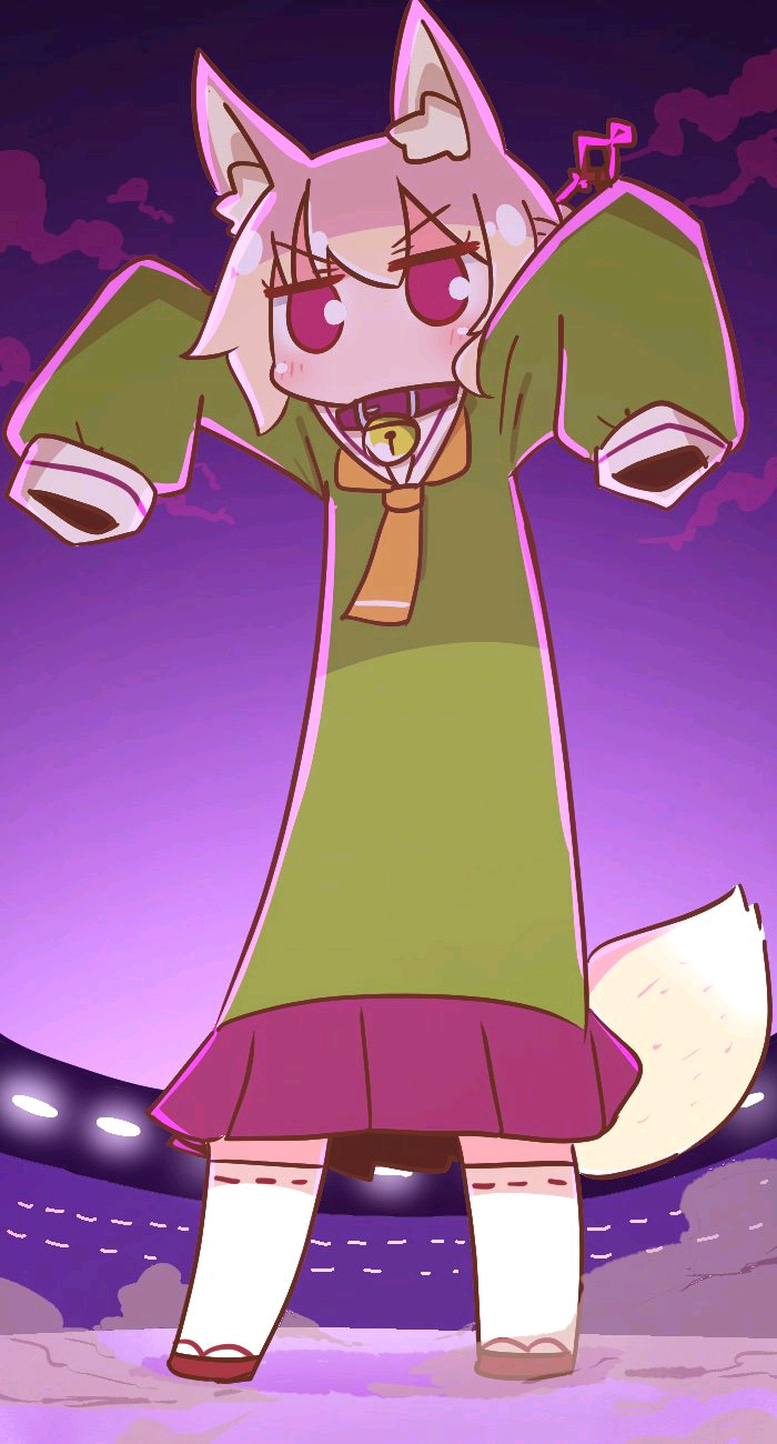 【ケモミミちゃん】小狐狸兽耳酱的表情包收集(画师:naga u/ながユー)图片