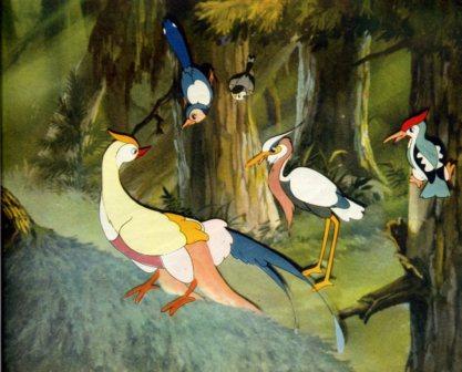 新中国第一部彩色动画片《国语是黑的》变相乌鸦怪杰电影版图片