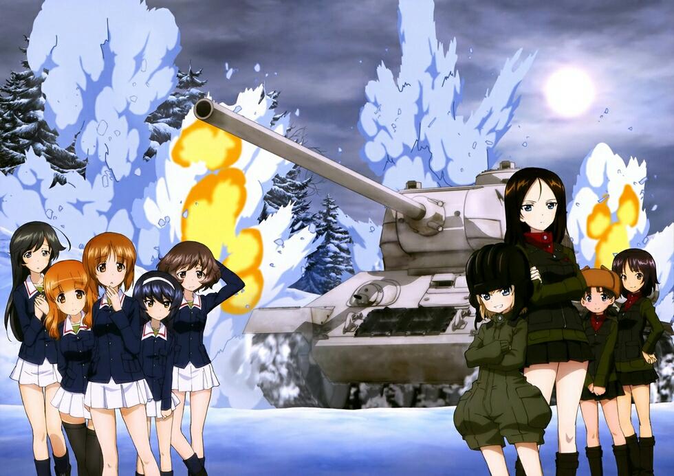 少女与战车高清壁纸系列(农娜篇)