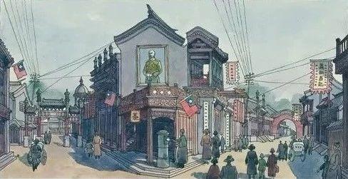 《霸王别姬》北京街景