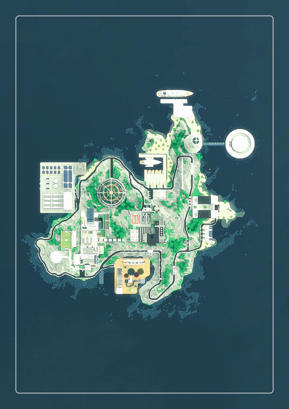 【我的别墅现代建筑群】海岛v别墅别墅--源梦岛好花草什么庭院种世界图片