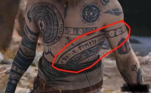 《战神4》巴德尔的纹身都有什么含义?它们有什么来历吗?图片