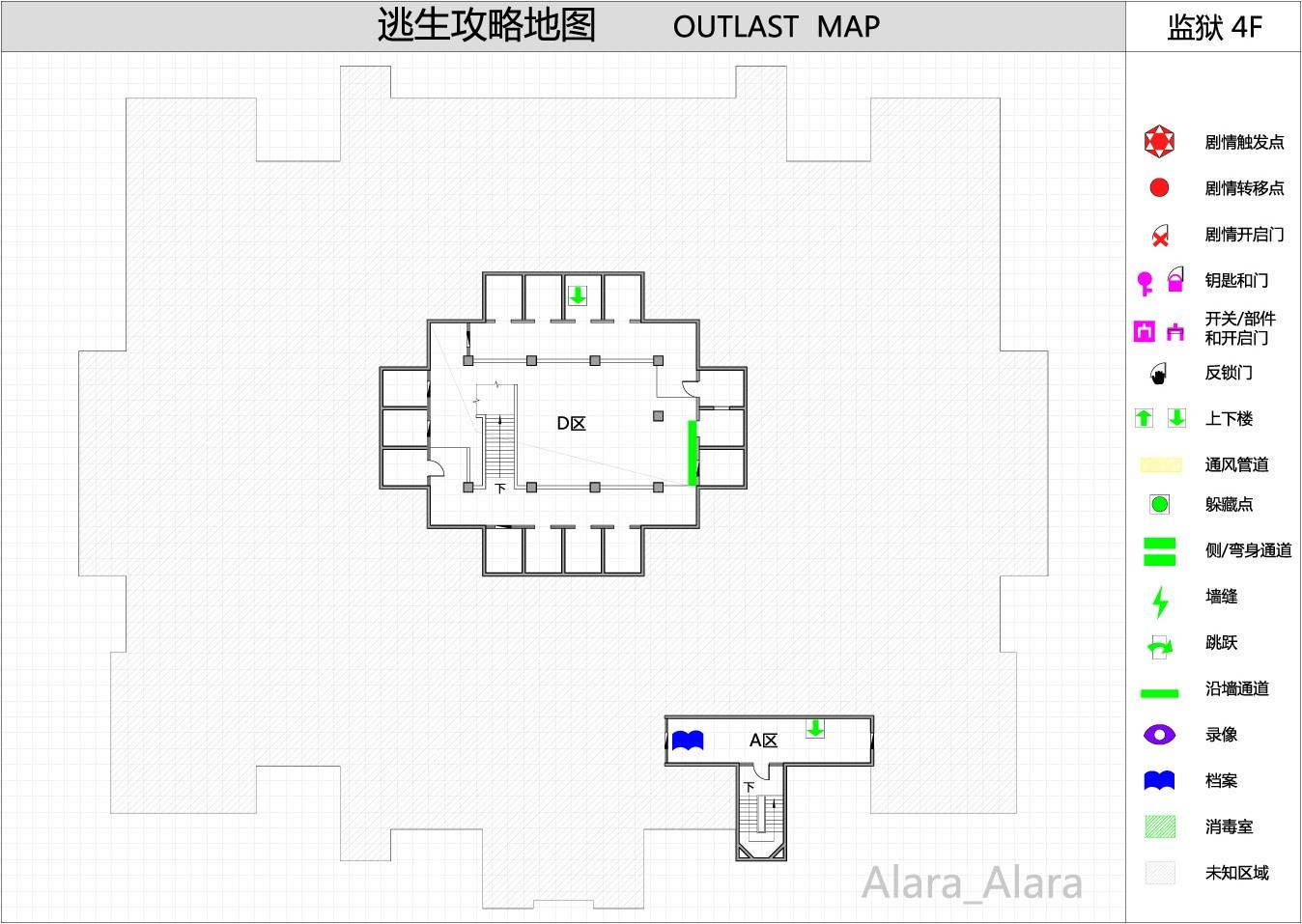 【逃生Outlast】攻略个人关于攻略v攻略地图的公众号名字图片