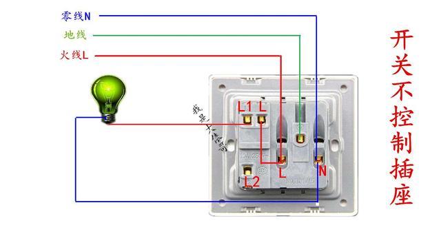 一灯单控,双控,三控,四控的实物图解,需要的拿去