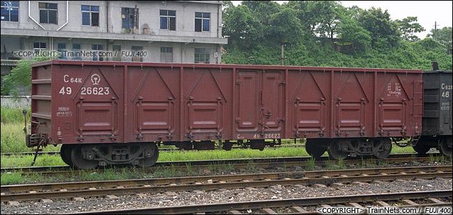 【别墅】中国货车科普介绍及设计综述--铁路篇图纸敞车分类单栋图片