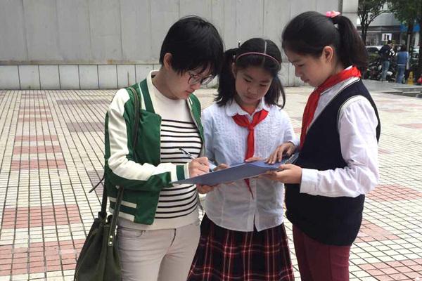 小学生社v小学:在街头做问卷调查被拒怎样学好小学语文语文图片