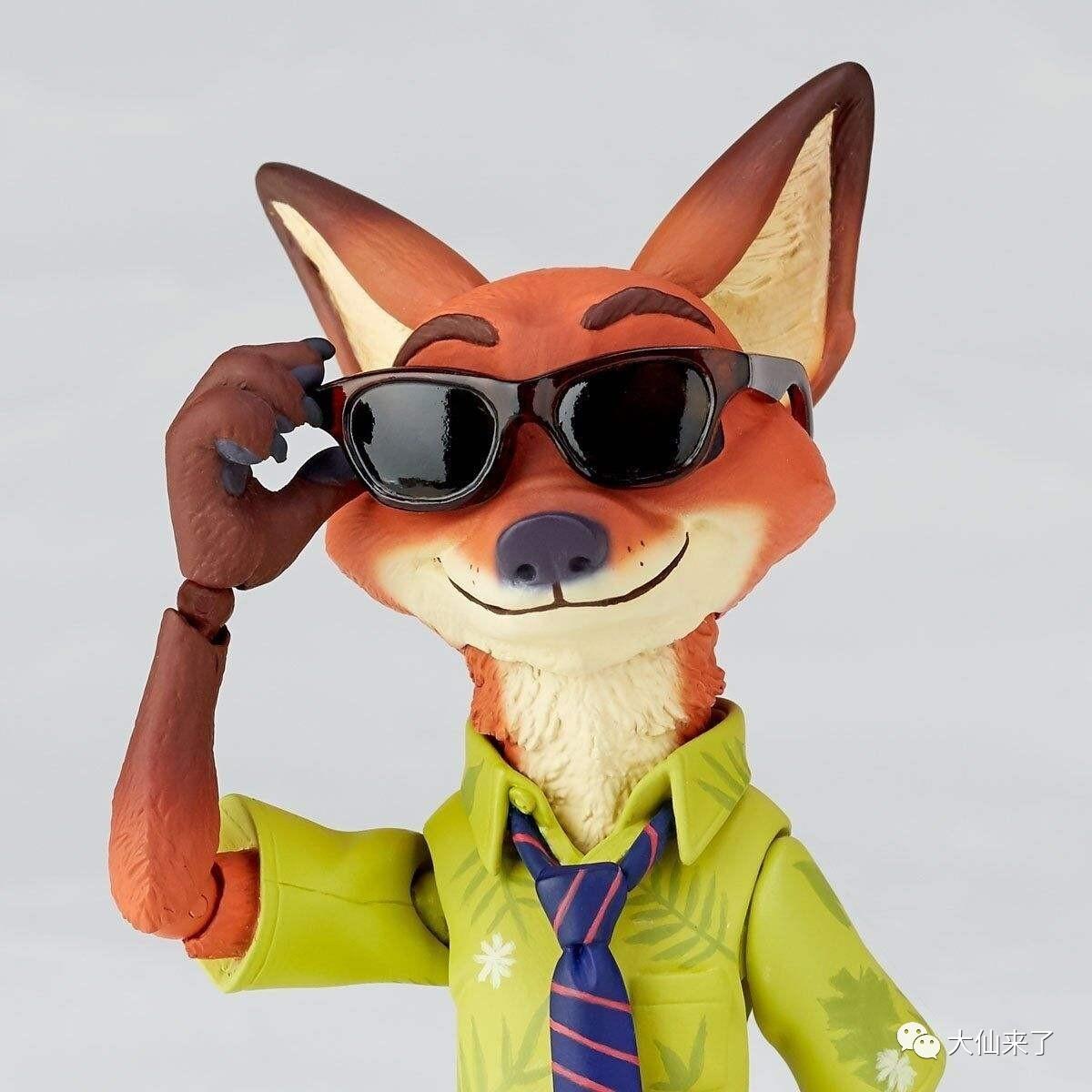《疯狂动物城》兔朱迪的黄金搭档——狐尼克来啦!图片