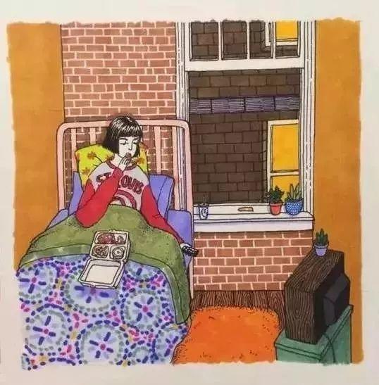 她画出了女生独处时的羞羞日常,引来百万人围观图片