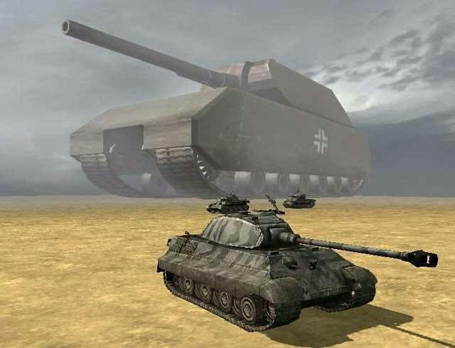 鼠式坦克高清壁纸_188吨的鼠式坦克