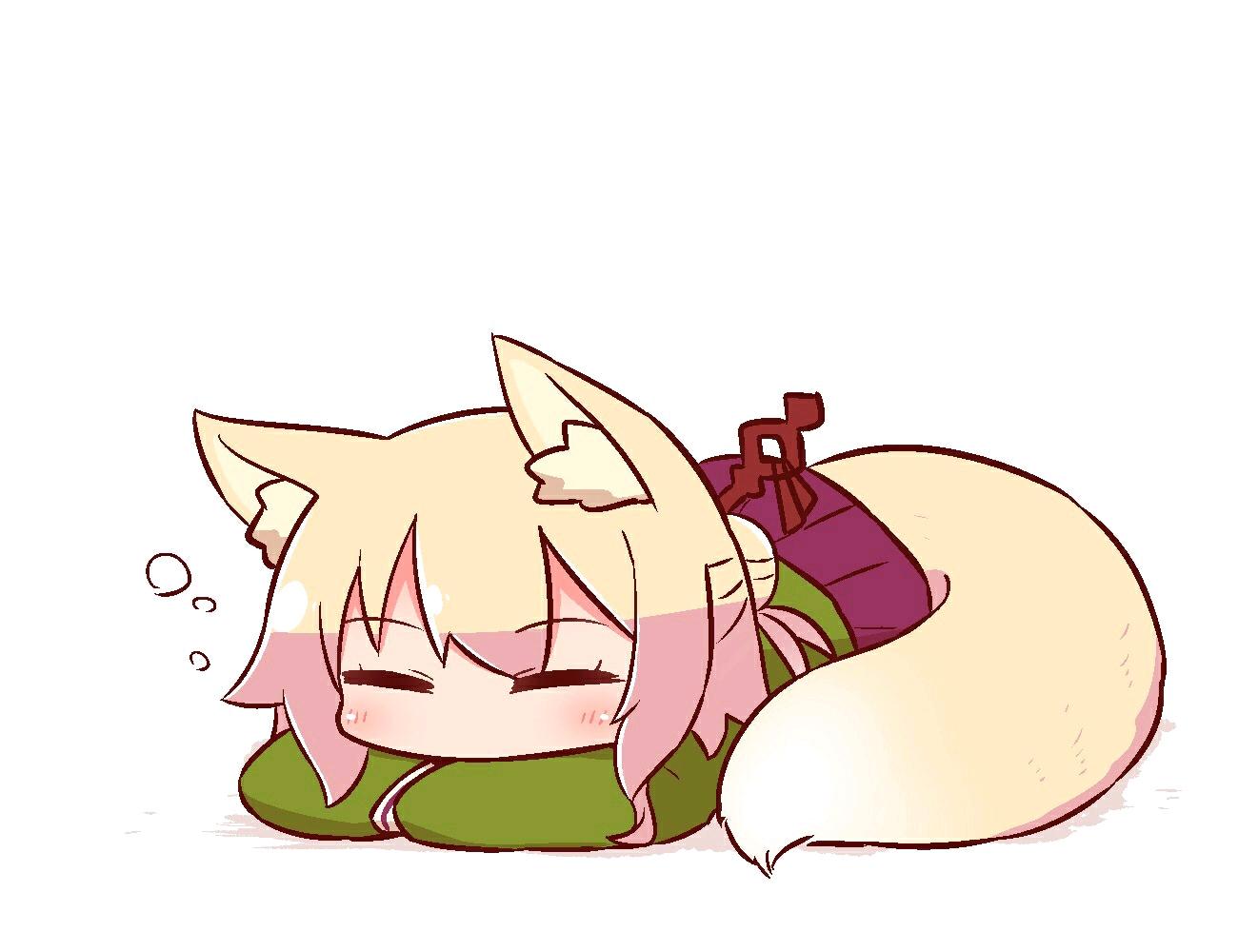 【ケモミミちゃん】小狐狸兽耳酱的表情包收集