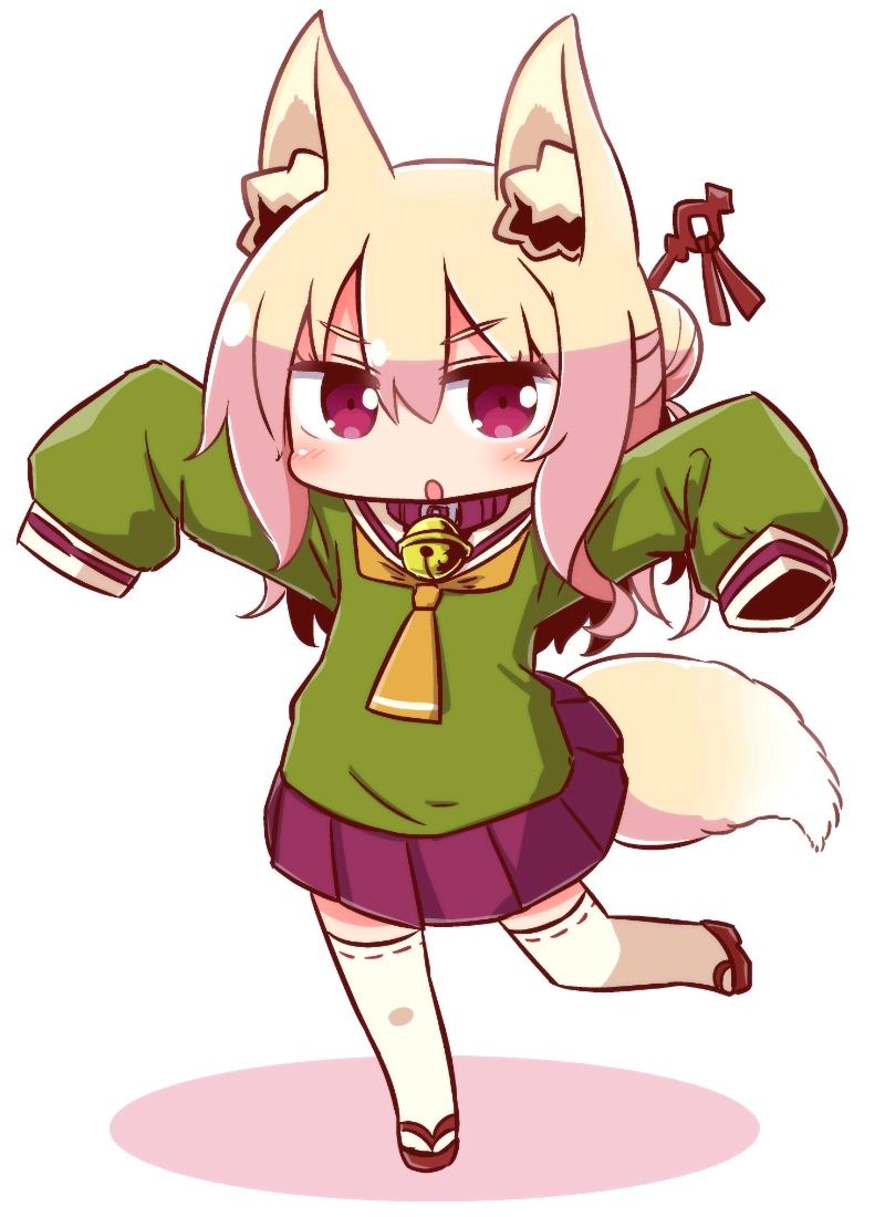 kemomimi酱小狐狸,超可爱的表情包.套图分享第一期.图片