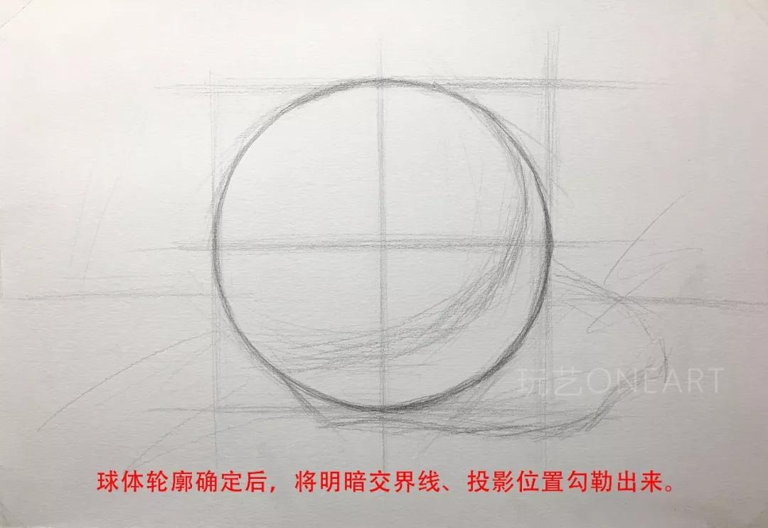 画方容易画圆难,23步教你画好球体素描 | 玩艺课堂图片