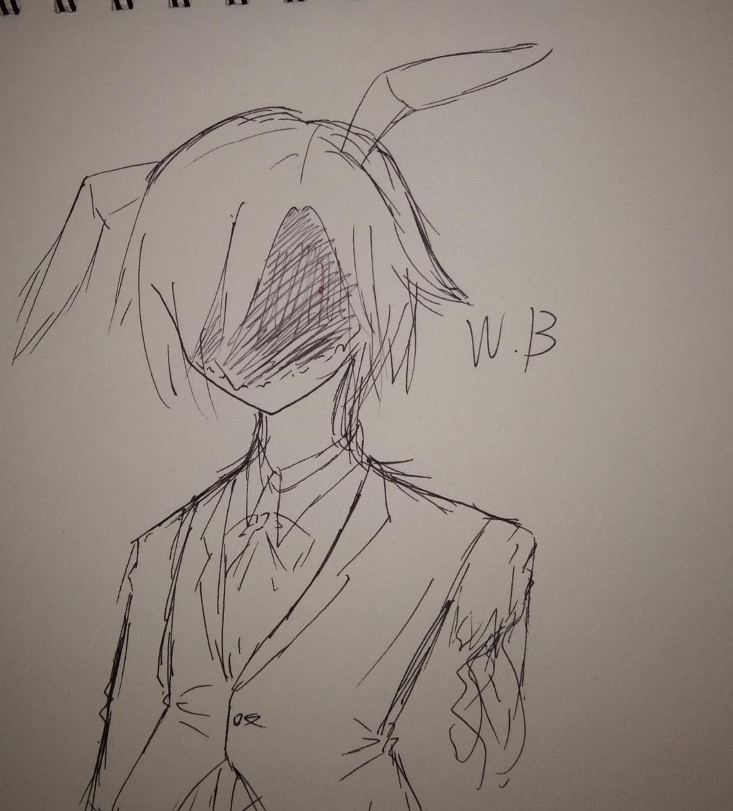 捅b什么感觉_第一次感觉自己画的w.b很帅w!