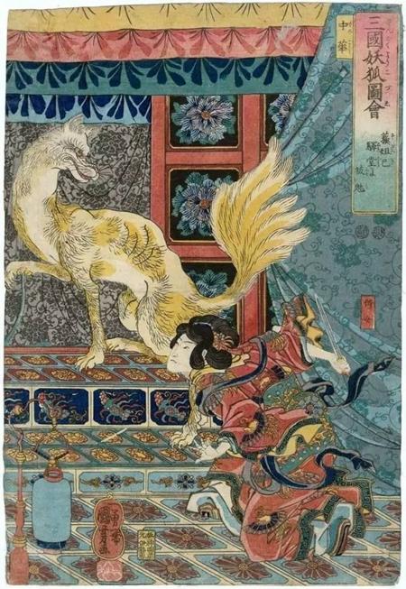 """鱼说动漫   """"百鬼夜行""""的起源不是中国吗?"""