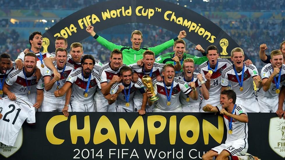 2014年巴西世界杯冠军德国队