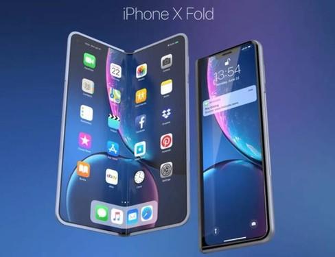 "fold相似,采用内折设计,机身外屏正面依然有""刘海"",而用来翻折的大图片"
