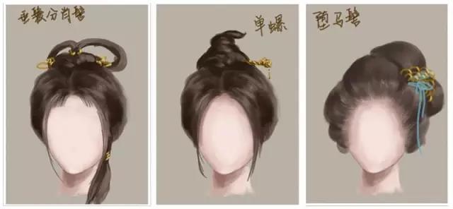 【古风发型解析】发型有多少种,古风女子就有多少种美图片