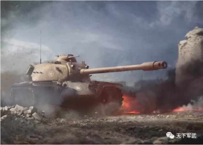 t110e5坦克_4名 t110e5