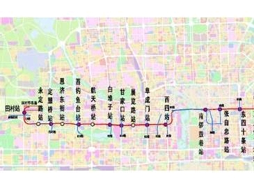 北京地铁2020年规划图(上篇)图片
