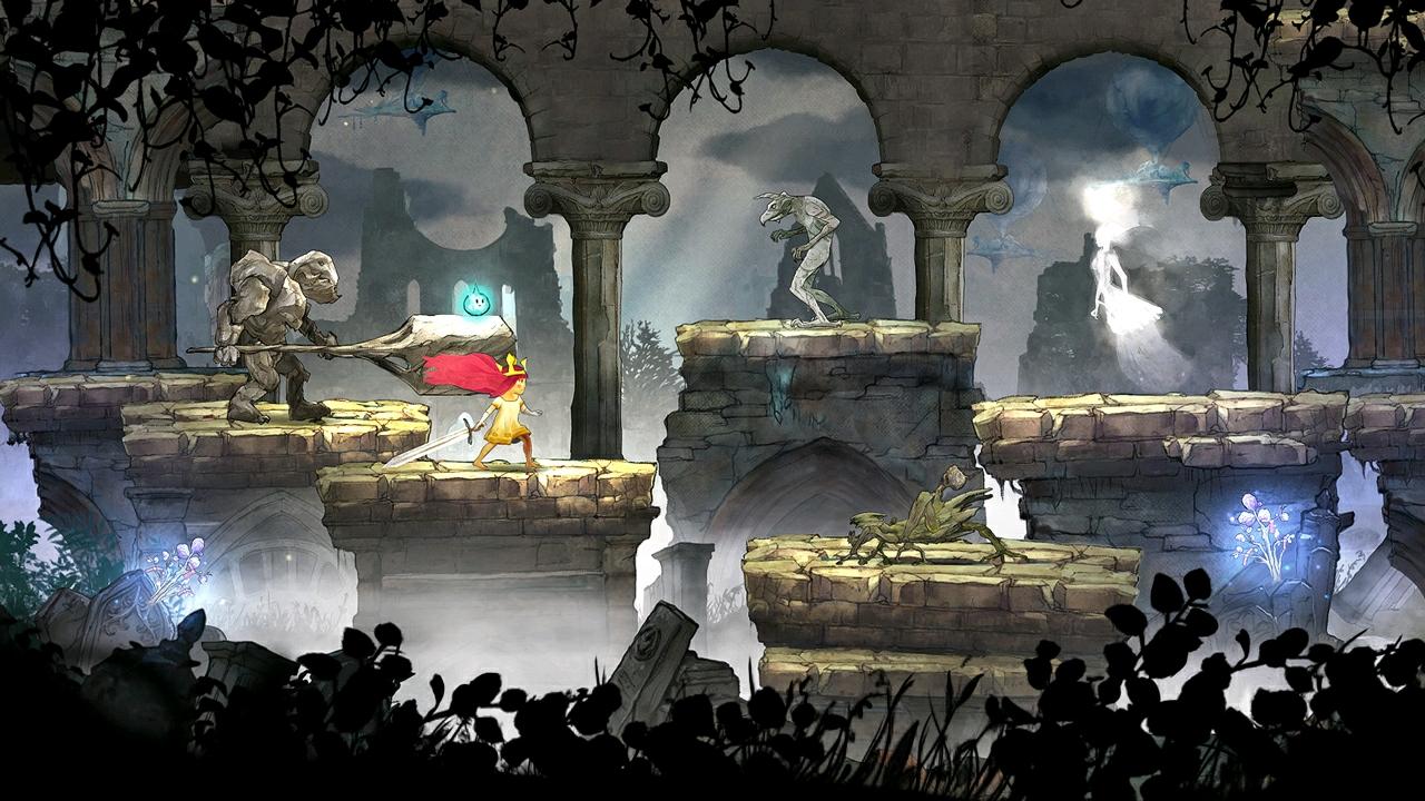 与怪兽和邪恶生物战斗:欧若拉拥有与邪恶怪兽战斗和复原被窃之光的