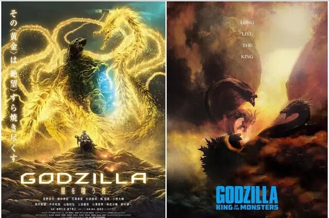 哥斯拉2:怪兽之王曝定期,哥斯拉:噬星者曝新海报