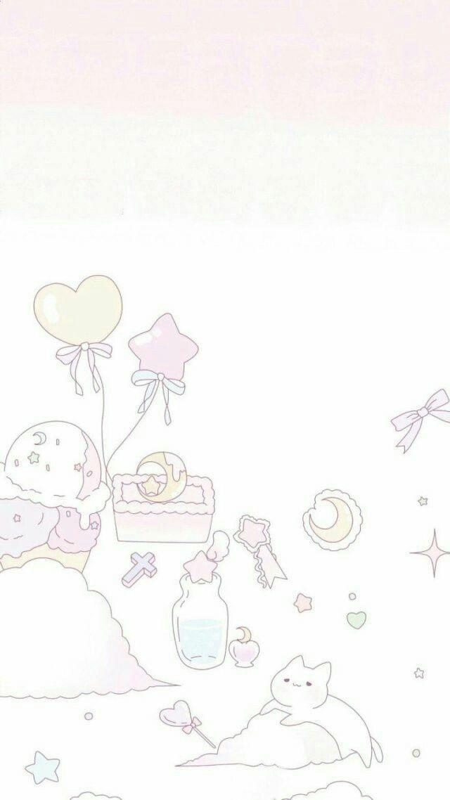 「少女心粉色系列」「聊天背景」「简约可爱」