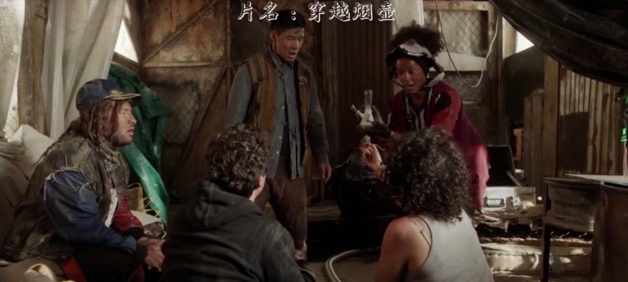 在未来国际通用语言竟是中文,奇幻穿越搞笑电沦陷电影图片