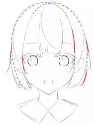 「推荐」动漫人物头发怎么画?教你如何正确绘画人物的头发