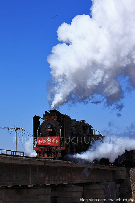 中国蒸汽机车科普 六 解放6,上游型蒸汽机车图片
