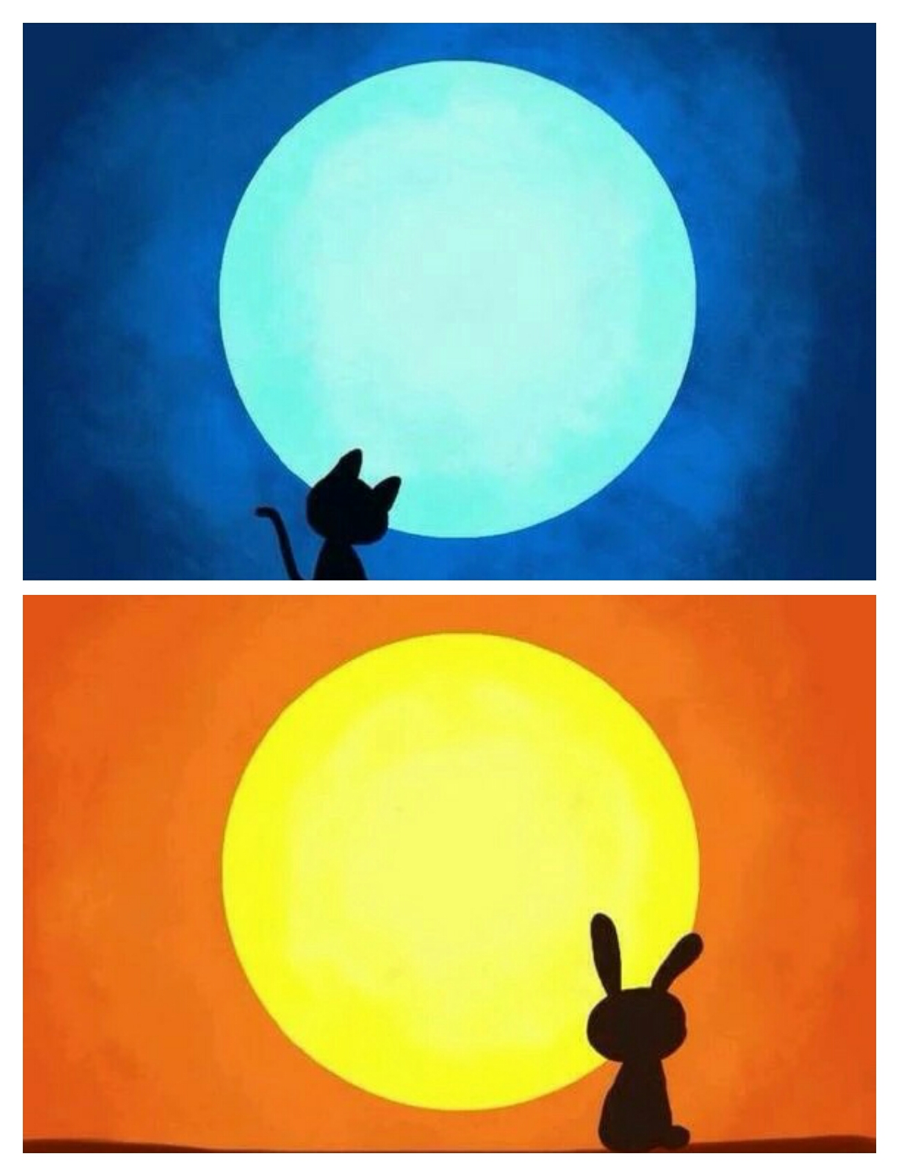 梦见天上太阳和月亮