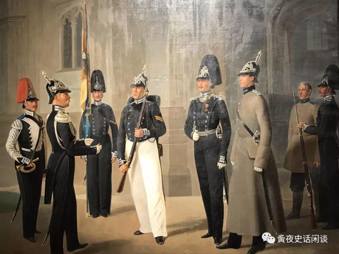 普鲁士王国继承了条顿骑士团的军事专制制度,民风彪悍,军力强大,社会