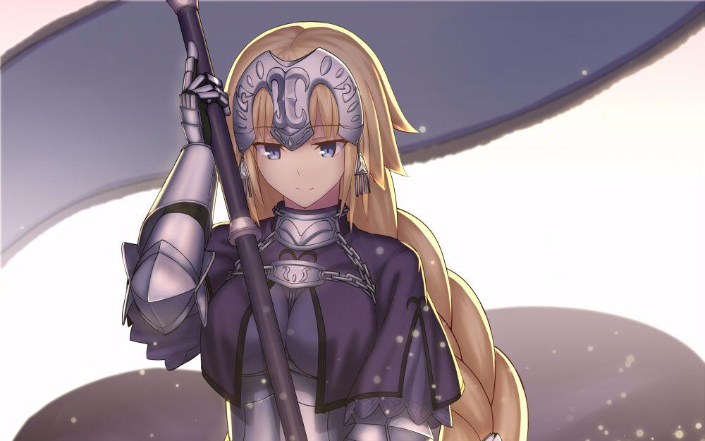 fate grand order英灵美图鉴赏第五弹-贞德图片