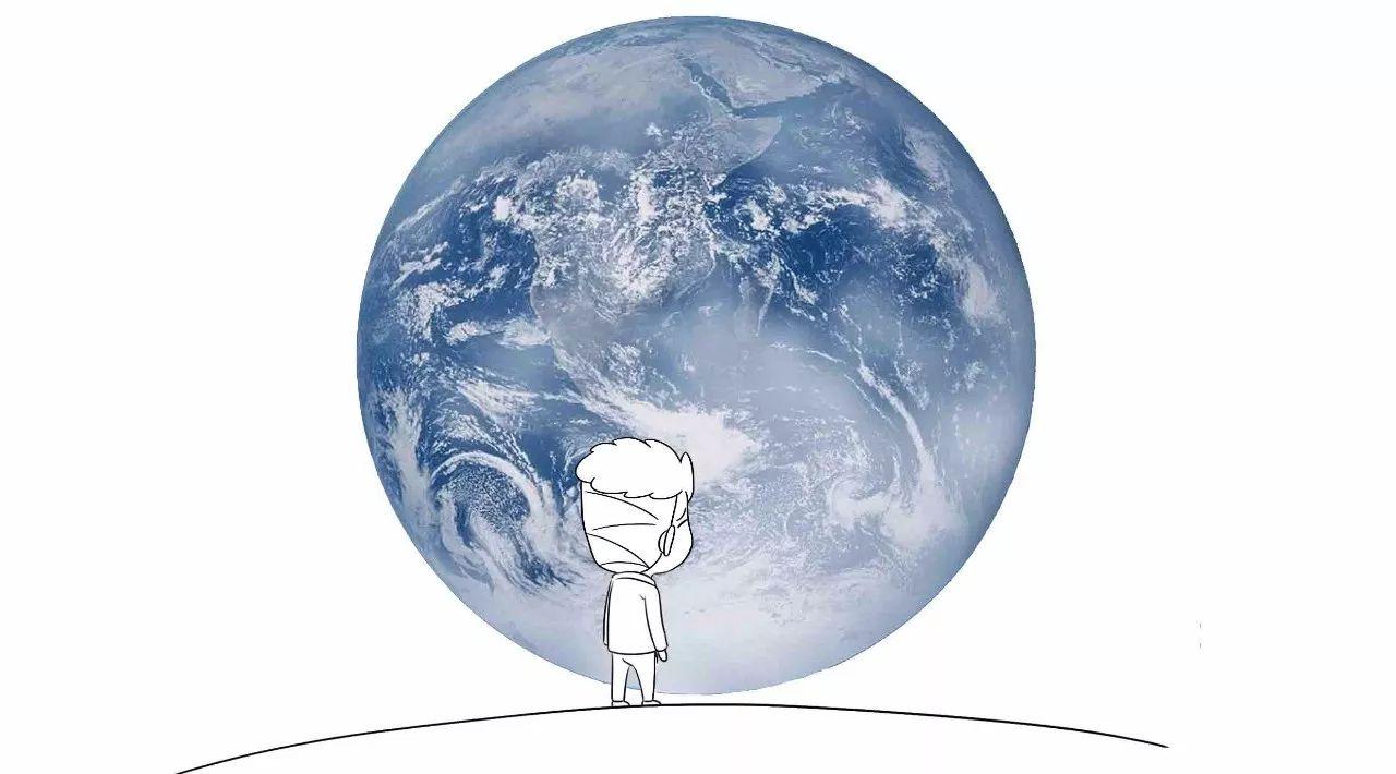 我们都知道,微信启动画面是一个人面对巨大的地球,寓意着图片