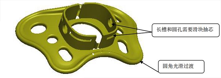 塑胶模具设计,奶嘴婴儿本体注塑设计总结,好的淘宝logo字体设计软件图片
