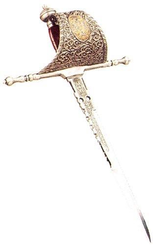 人们喜欢把长匕首,